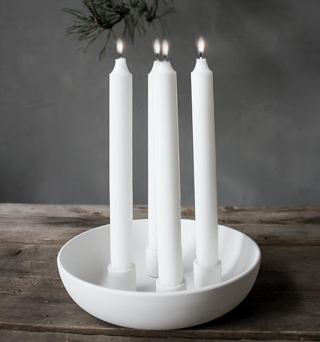 Advents-Kerzenleuchter Granholmen-weiss