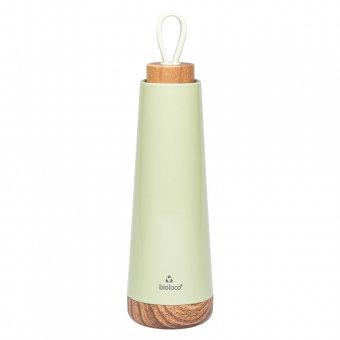 Wasserflasche / Thermosflasche bioloco loop - hellgrün