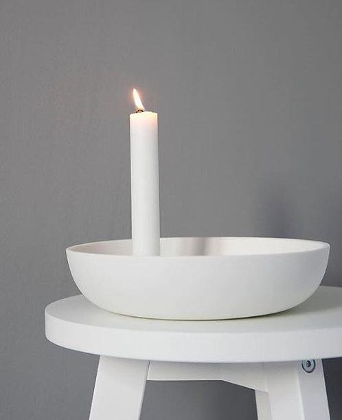 Kerzenleuchter Lidatorp weiss mittel