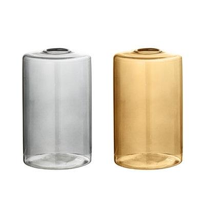 kleine Vase in zwei Farben
