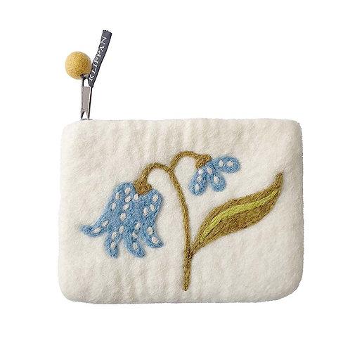 Geldbörse / Tasche Lily aus gefilzter Wolle