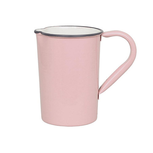 Krug, Kanne, Vase, Metall rosa - Olle klein