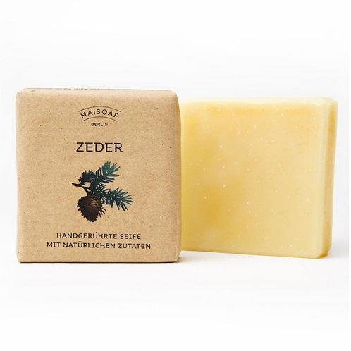 Natürliche Seife: Zeder