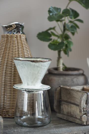 Geschirrserie Dunes - iblaursen - sandfarben - Kaffeetrichter