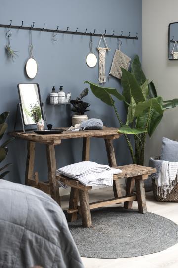 Vintage Tisch, Esstisch, Unikat aus Altholz