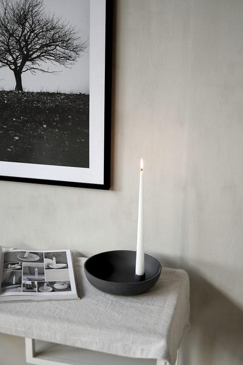 Lidatorp, dunkelgrau, groß,  Kerzenhalter