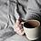 Thumbnail: kleiner Becher, Tasse, Keramik, Längasjö, beige, braun