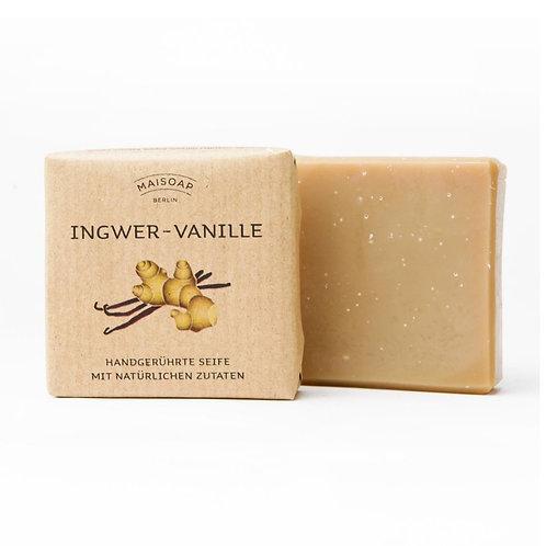 Natürliche Seife: Ingwer-Vanille