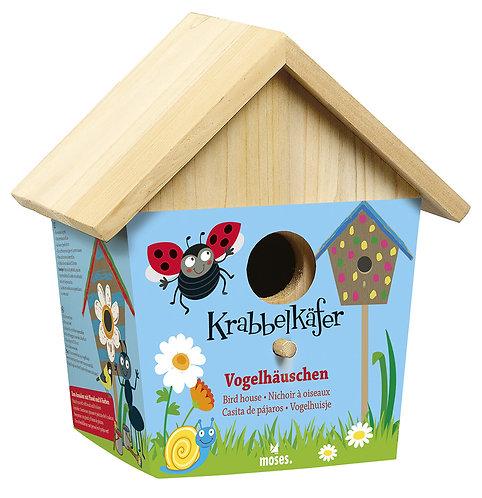 Vogelstation / Vogelhaus zum Selbermachen - Krabbelkäfer