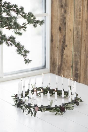 Kerzenhalter für 24 dünne Kerzen, Metall