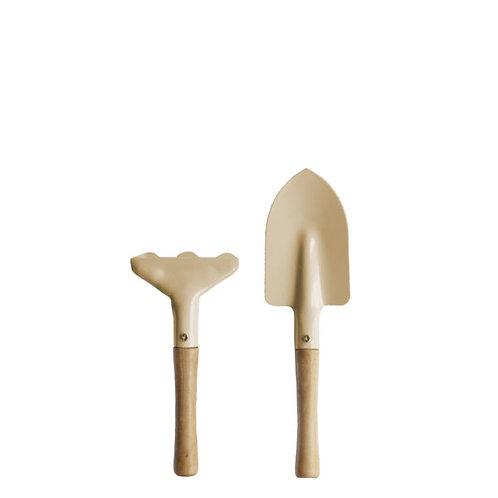 Gartenwerkzeug Set Harke und Schaufel - Forsbacka beige