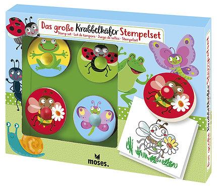 Stempel Set für Kinder - Krabbelkäfer