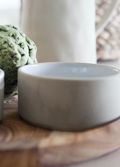 kleine Schale Ellne, Keramik, beige