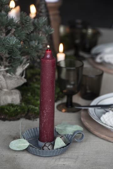 dicke Kerze, rhododendron, rustikale Kerze, Altarkerze