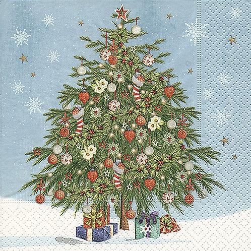 Serviette Weihnachtsbaum - 20 Stück