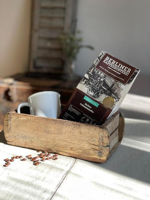 Geschenkkorb Vintage mit Kaffee und Becher-inklusive Geschenkversand