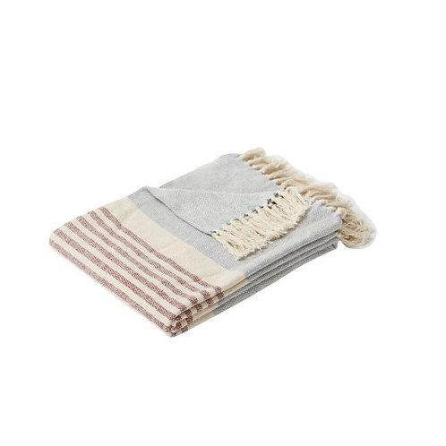 Decke aus Baumwolle im Beachhouse Style