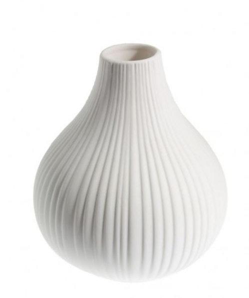Keramikvase Ekenas weiss