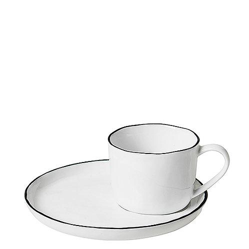 """Geschirr broste """"Salt"""" - Tasse mit Untertasse klein"""