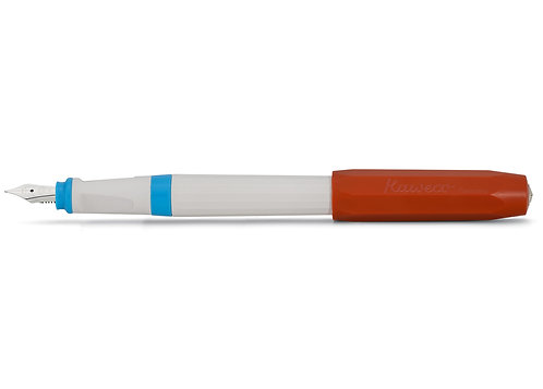 Kaweco Füller Perkeo - retro block - weiss, rot, blau
