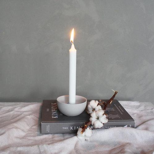 Kerzenleuchter Lidatorp grau mini