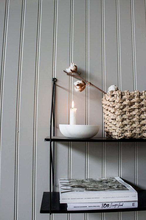 Lidatorp, weiß, klein, Kerzenhalter
