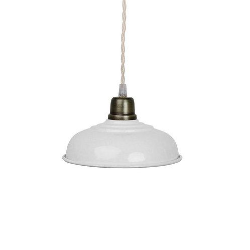 Deckenlampe, Vintage Lampe Birgith, altweiss