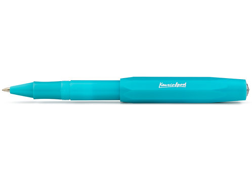 Kaweco Tintenroller Frosted Sport blush light Blueberry - hellblau