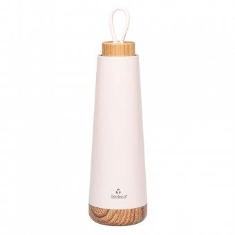 Wasserflasche / Thermosflasche bioloco loop - rosa