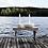 Thumbnail: Lidatorp Jubiläum, weiß, groß, Kerzenhalter