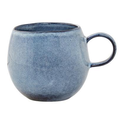 grosse Tasse, Bloomingville Sandrine, blau