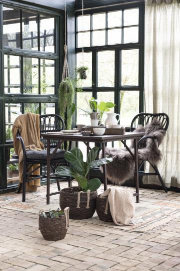 Tisch, klappbar, aus Vintage Holz