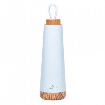 Wasserflasche / Thermosflasche bioloco loop - hellblau