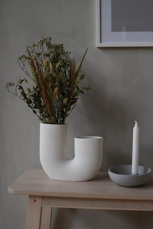 Stravalla, weiß, Vase