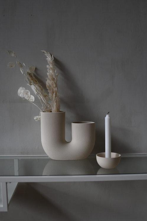 Vase Storefactory Stravalla, beige
