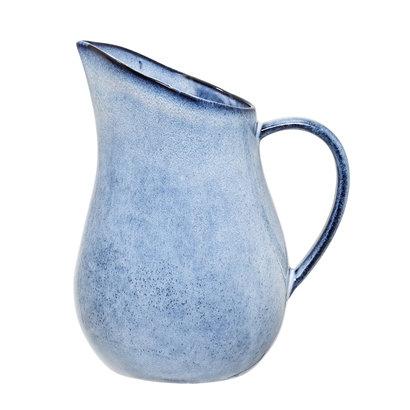 grosser Krug, Bloomingville Sandrine, blau