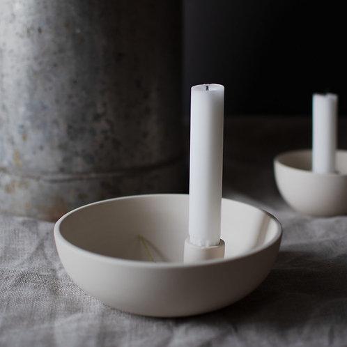 Lidatorp, beige, klein, Kerzenhalter