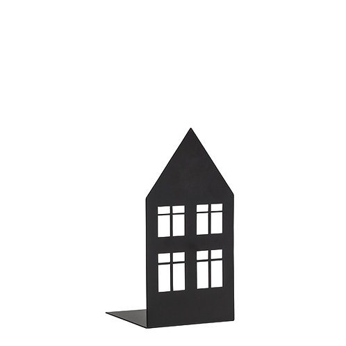 Storgatan, schwarz, klein, Teelichthalter, Kerzenhalter