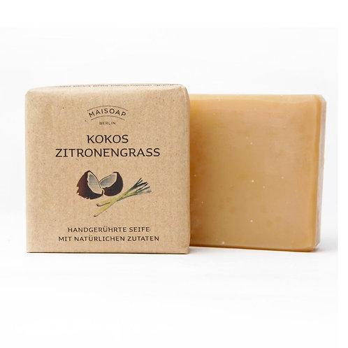 Natürliche Seife: Kokos Zitronengras