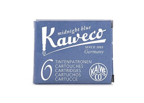 Tintenpatronen Kaweco- 1 Packung mit 6 Patronen