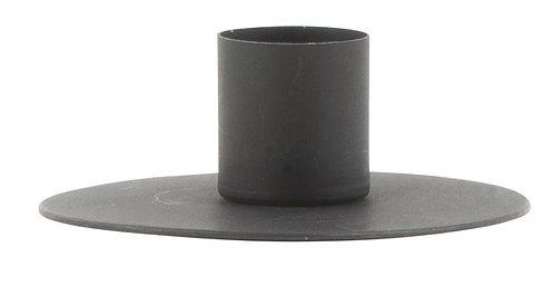 Kerzenhalter für Stabkerzen, schwarz