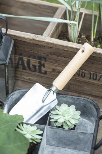 Vintage Tablett für Garten oder Küche aus Zink
