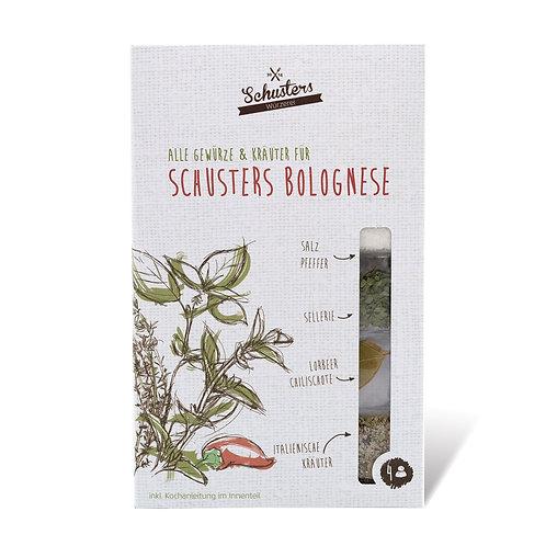 Schusters Bolognese zum Selber Kochen von Schusters Würzerei