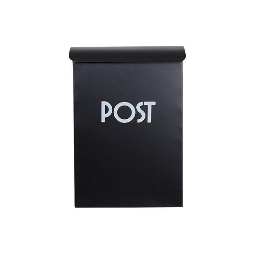 Vintage Postkasten, Briefkasten,schwarz