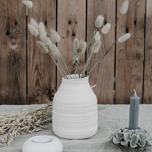 Vase, Keramikvase, Follingbo, beige
