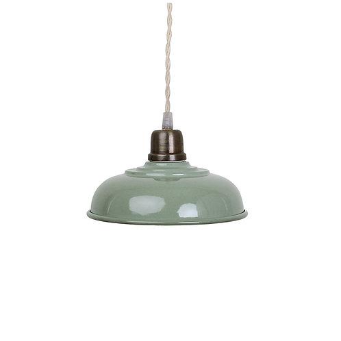 Deckenlampe, Vintage Lampe Birgith, grün