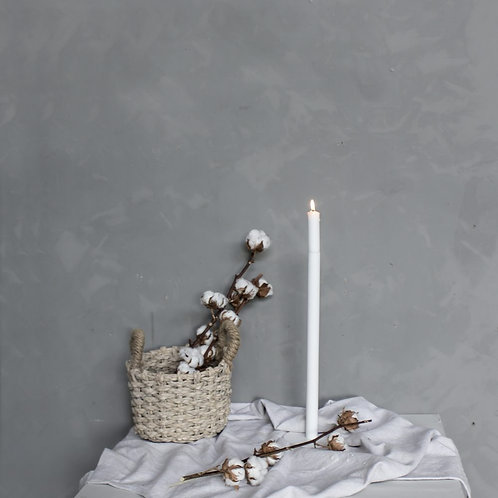 Kerzenleuchter Storefactory Ekeberga, weiss, 40cm