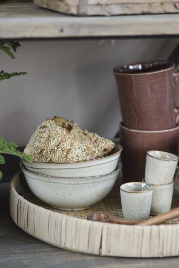 Geschirrserie Dunes - iblaursen - sandfarben -Müslischale