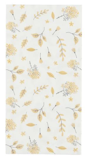 Servietten Set, Yellow Leaves, IBLaursen
