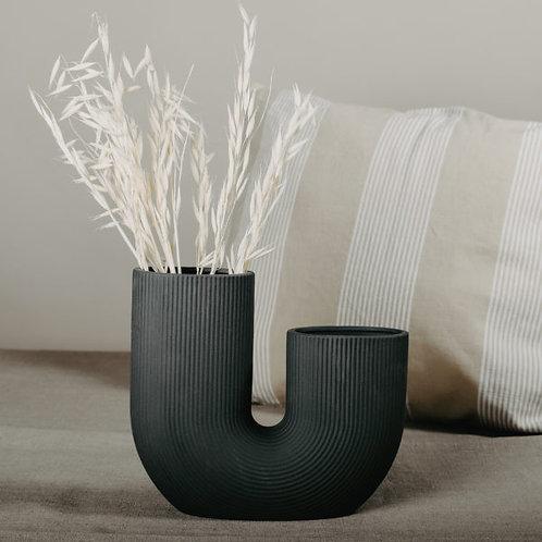 Vase Storefactory Stravalla, dunkelgrau